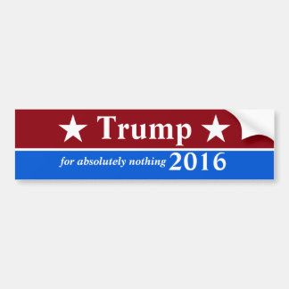 Anti-Trump Bumper Sticker