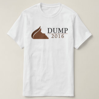 Anti-Trump for President Shirt (Dump | 2016)