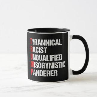 Anti Trump Funny Acronym Mug