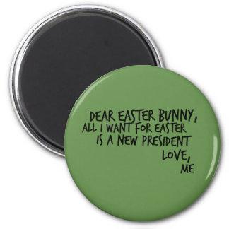 Anti-Trump Funny Political Humor Democrat Liberal Magnet