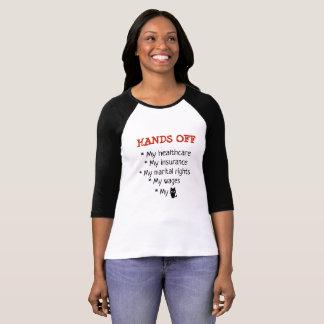 Anti Trump Hand Political shirt Off Shirt