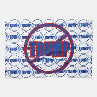 Anti Trump No Trump Custom Donald Trump Hand Towels