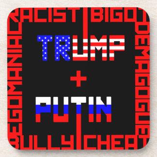 Anti Trump+Putin Drink Coaster