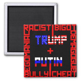 Anti Trump+Putin Magnet