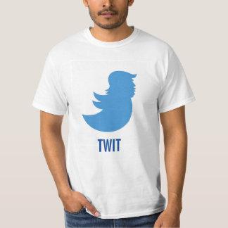"""Anti-Trump T-Shirt: Donald Trump """"TWIT"""" T-Shirt"""
