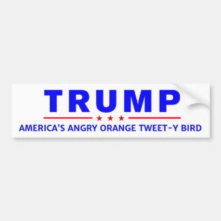 Anti-Trump Tweet-y Bird Bumper Sticker