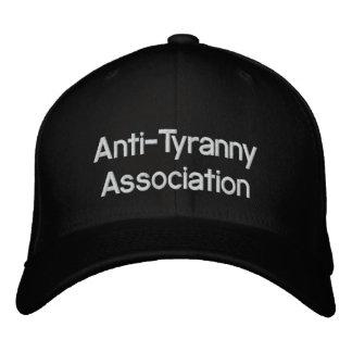 Anti-Tyranny Association Embroidered Baseball Cap