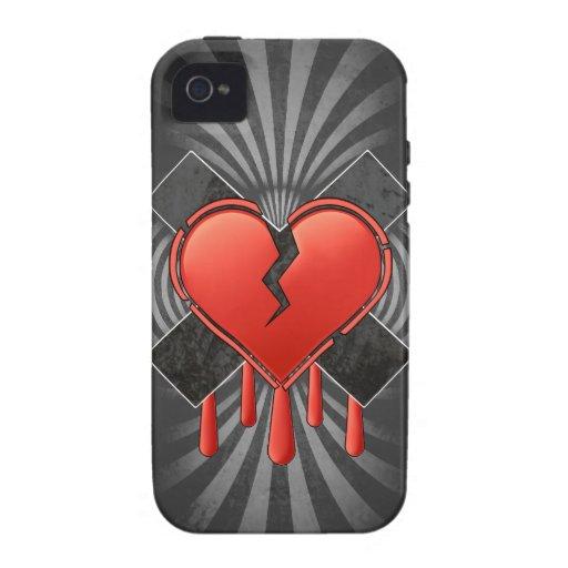 Anti Valentine's Vibe iPhone 4 Cover