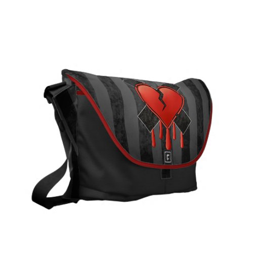 Anti Valentine's Messenger Bag
