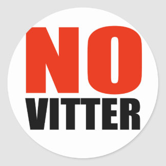 ANTI-VITTER ROUND STICKER