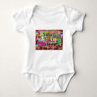 Anti War Poster Baby Bodysuit