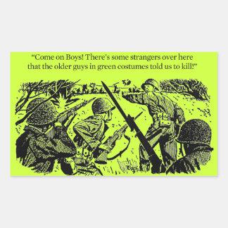 Anti War Sticker Set