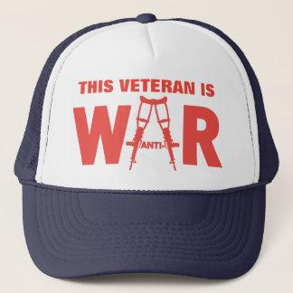 Anti-War Veteran Hat