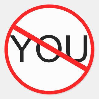 Anti You Sticker