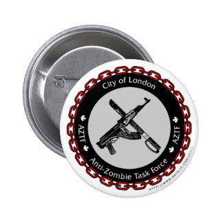 Anti-Zombie Task Force 2 Inch Round Button
