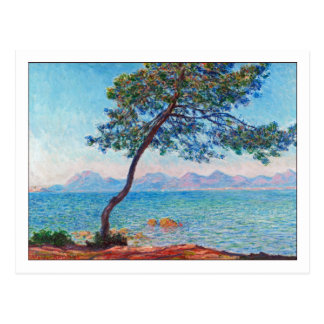 Antibes by Monet Postcard
