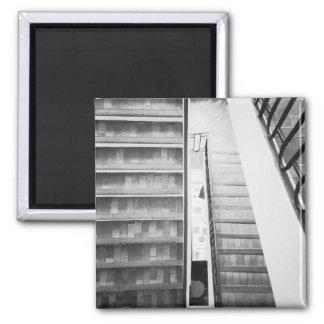 Antibes France, musée de Picasso d'escaliers Magnets Pour Réfrigérateur