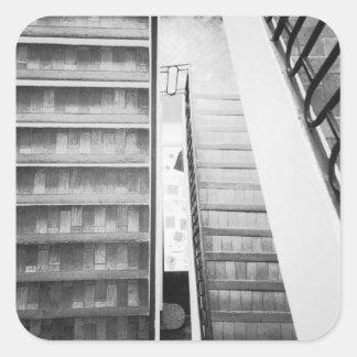 Antibes France, musée de Picasso d'escaliers Sticker Carré