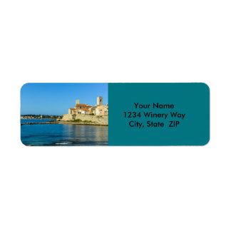 Antibes France Return Address Label