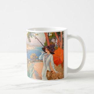 Antibes Poster Mug