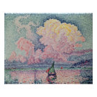 Antibes, the Pink Cloud, 1916 Poster