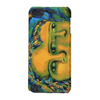 Anticipation - Gold and Emerald Goddess iPod Touch (5th Generation) Covers