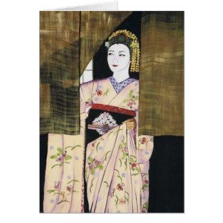 Anticipation - Maiko Geisha Card
