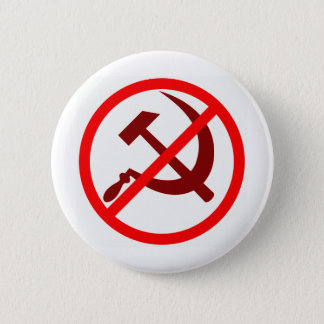 anticommunist 2 inch round button