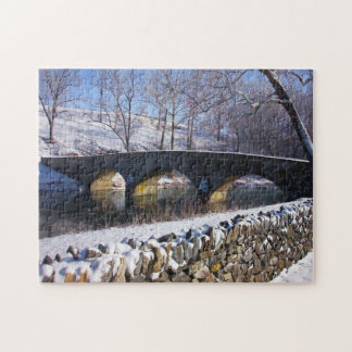 Antietam Burnside Bridge Maryland. Jigsaw Puzzle