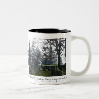 Antietam National Cemetery, Sharpsburg, Md Two-Tone Coffee Mug