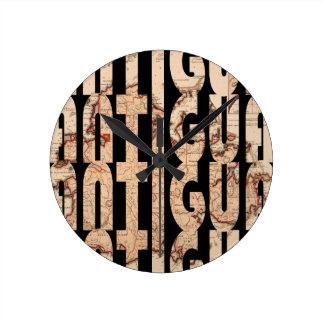 antigua1794 round clock
