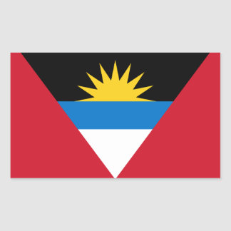 Antigua and Barbuda (Antiguan/Barbudan) Flag Sticker