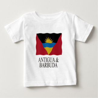Antigua and Barbuda flag Baby T-Shirt