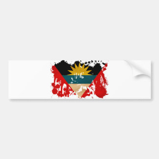 Antigua and Barbuda Flag Bumper Sticker