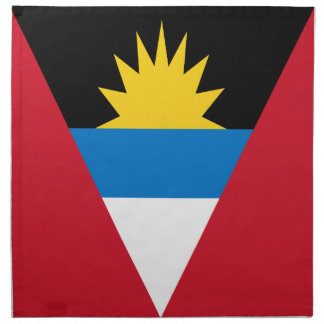 Antigua and Barbuda Flag Cloth Napkin