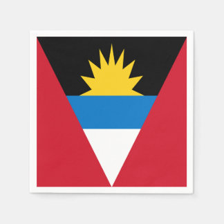 Antigua and Barbuda Flag Disposable Napkin