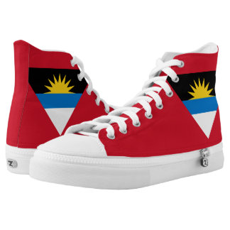 Antigua and Barbuda Flag High Tops