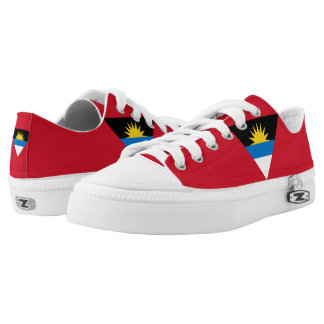 Antigua and Barbuda Flag Low-Top Sneakers