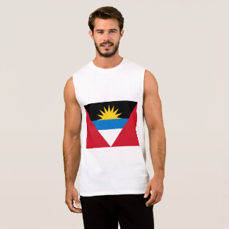 Antigua and Barbuda Flag Sleeveless Shirt