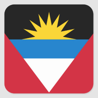 Antigua and Barbuda Flag Sticker