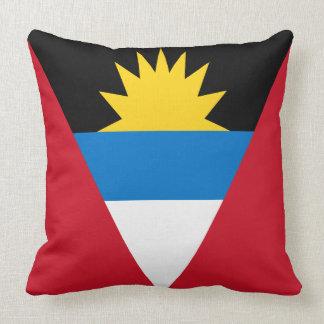 Antigua and Barbuda Flag Throw Pillow