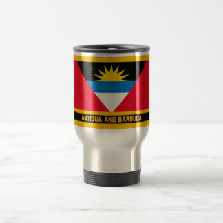 Antigua And Barbuda Flag Travel Mug
