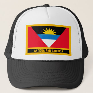 Antigua And Barbuda Flag Trucker Hat