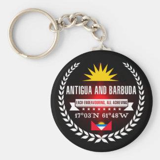 Antigua and Barbuda Keychain