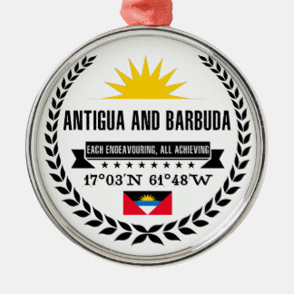 Antigua and Barbuda Metal Ornament