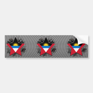 Antigua and Barbuda Star Bumper Sticker