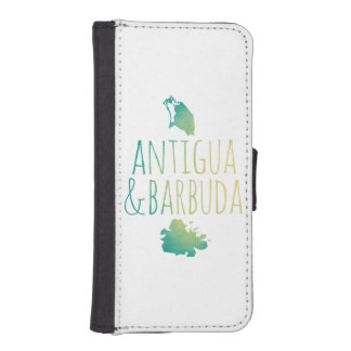 Antigua & Barbuda iPhone SE/5/5s Wallet Case