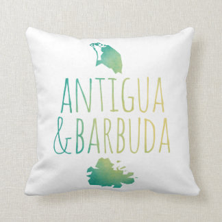 Antigua & Barbuda Throw Pillow