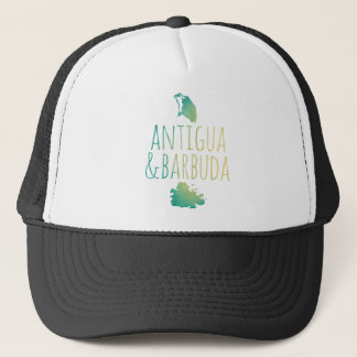 Antigua & Barbuda Trucker Hat