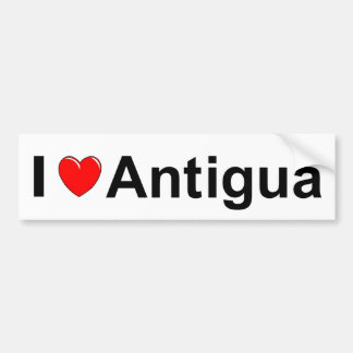 Antigua Bumper Sticker